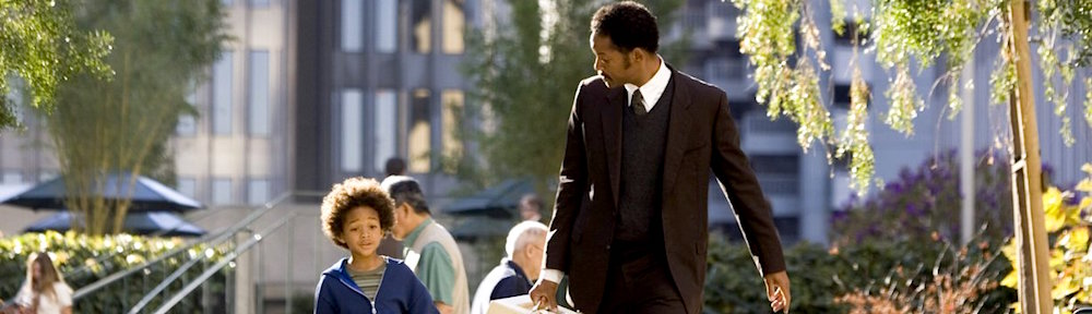Pursuit of Happyness banner