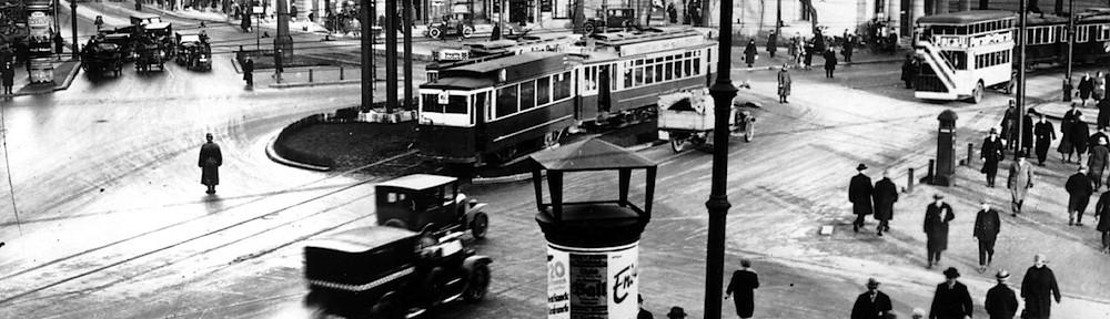 Berlin 1927 banner