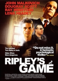 ripleys game and talented mr ripley Tom ripley is fascinating in the sense that a snake is fascinating  anthony  minghellas the talented mr ripley (1999), liliana cavanis ripley's game (2002 ),.