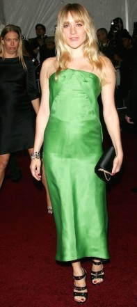 Chloe Sevigny at the 2007 Met Ball