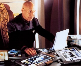 Picard had accidentally added a 0 to his iPad order