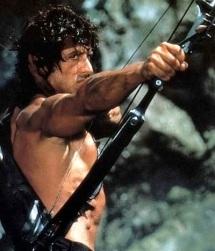 Rambo Hood, Rambo Hood, riding through the jungle