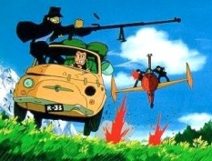 Lupin in action