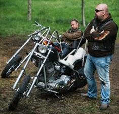 Arson-bent bikers
