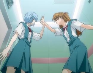 Rei vs Asuka