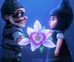 Gnomeo meets Juliet