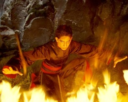 Dev Patel, not on fire