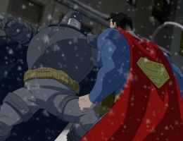 Dark Knight fight!
