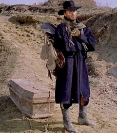Django with a coffin