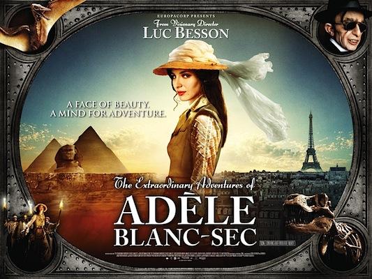 The Extraordinary Adventures of Adèle Blanc-Sec (2010) (1/5)
