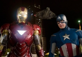 Captain Iron and America Man