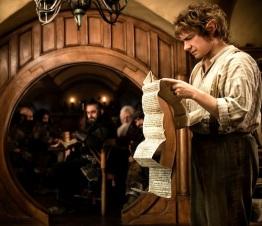 Bilbo reads ahead