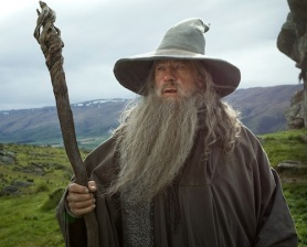Gandalf surveys the running time ahead