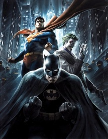 The Dark Knight and Friends