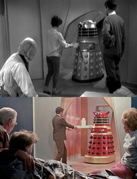 Delivery within 30 minutes or free Dalek bread