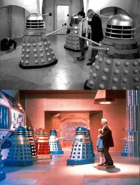 The Doctor and Susan meet the Daleks