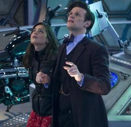 Clara and one of her Doctors