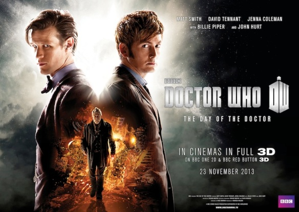 Doctor Who: The Day of the Doctor theatrical poster