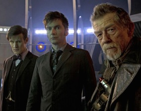 The (new) Three Doctors