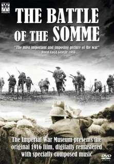 The Battle of the Somme DVD