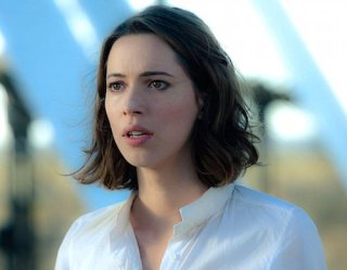 Another photo with Rebecca Hall in