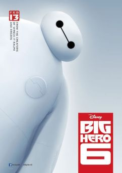 Big Hero 6 UK poster