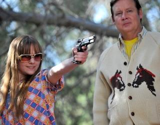 Got herself a gun