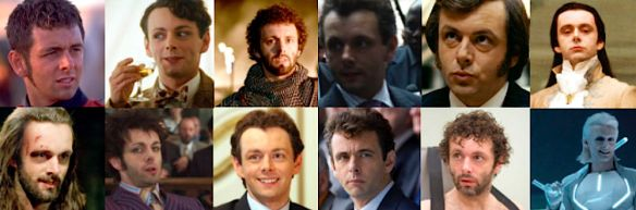 The many faces of Michael Sheen