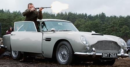 The car's Martin. Aston Martin.