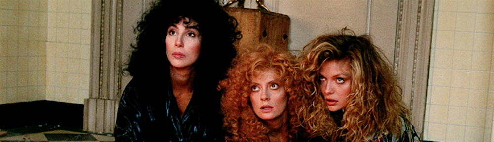 The Witches of Eastwick (1987) | 100 Films in a Year | 1000 x 288 jpeg 155kB