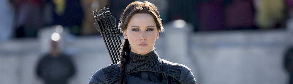 The Hunger Games: Mockingjay - Part 2 banner