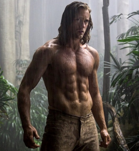 Me Tarzan, you jealous