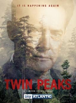 Twin Peaks season 3 UK poster