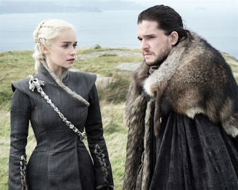 Jon and Dany, sitting in a tree...