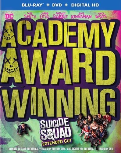 Suicide Squad Academy Award cover