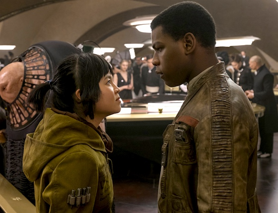 Also John Boyega and Kelly Marie Tran