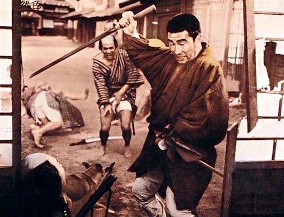 Zatoichi fights