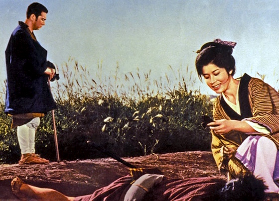 Zatoichi on a road, literally
