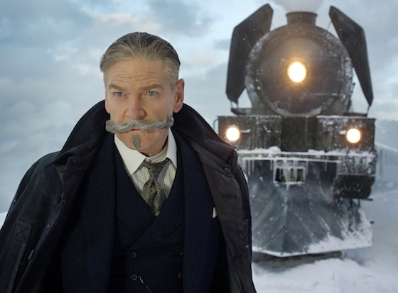 The star of the film: Branagh's moustache