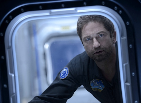 Gerard Butler, thwarted by another door