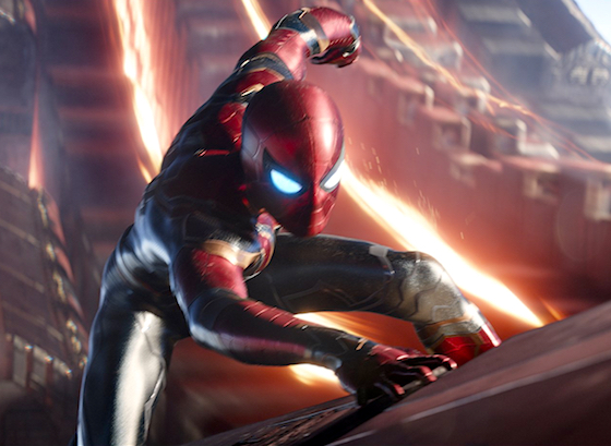 Spider-Man, Spider-Man, does whatever a high-tech Iron Man-esque suit can
