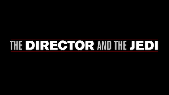The Director and the Jedi title card