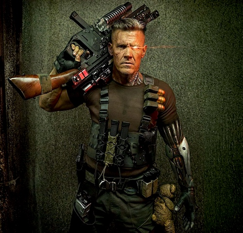 Cable, ready for action