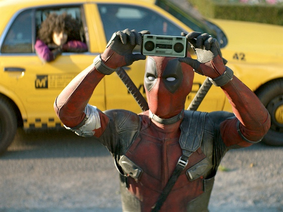 That Deadpool, he'll say anything