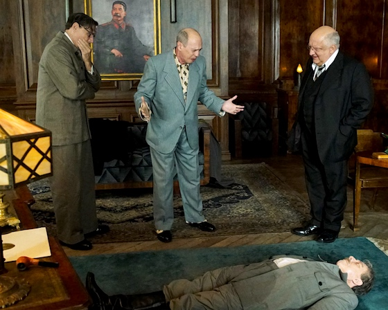 Over Stalin's dead body!