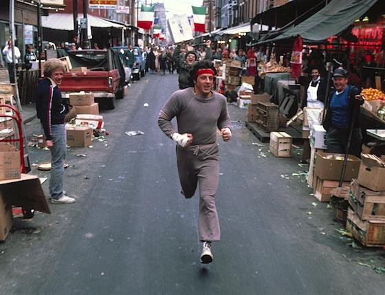 Run, Rocky, run!