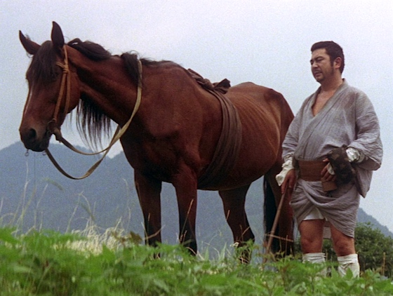 Zatoichi and the horse