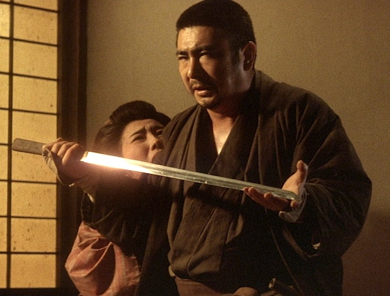 Zatoichi and his sword