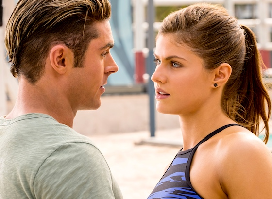 Zac Efron and Alexandra Daddario