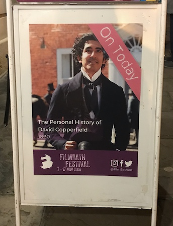 The Personal History of David Copperfield at FilmBath Festival